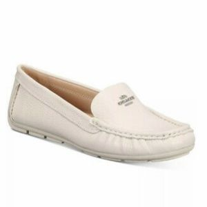 COACH MARLEY LEATHER DRIVER LOAFERS SZ 8